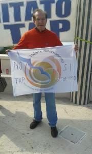 Pankiewicz il 25 aprile alla manifestazione di San Foca