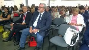 Forum Mediterraneo Sanità - Emiliano nel pubblico