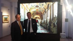 3) Pankiewicz e Giurin negli spazi della Galleria
